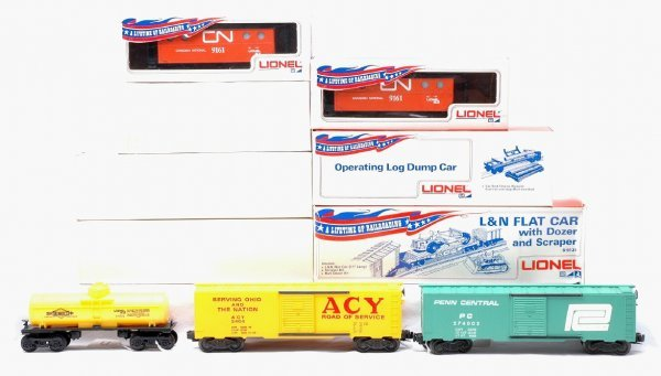 17: Lionel 9050 9121 9161 9161 9300 ACY MINT Boxed