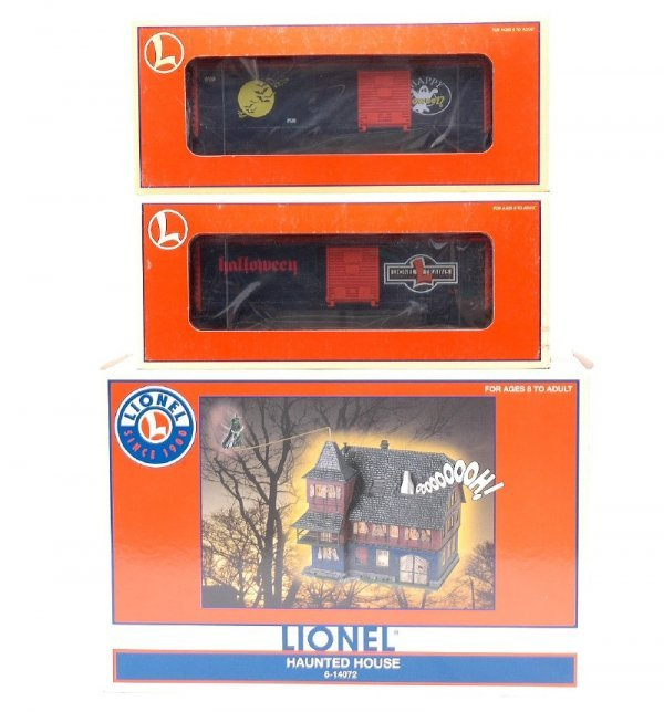 19: Lionel Halloween 14072  26719 29231 MINT Boxed