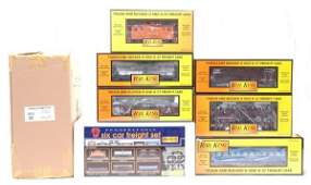 36 MTH 307007 PRR sixCar Freight Set MINT Boxed