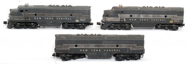 1: Lionel 2344 NYC F3 diesel A-B-A units