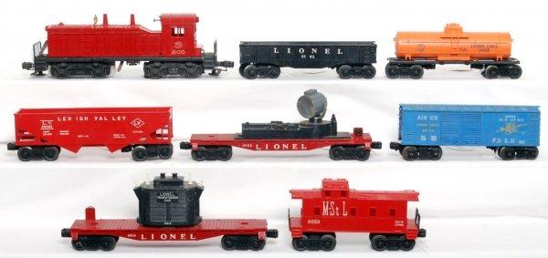 10: Lionel 600, 6142, 6476, 6025, 6822, 6044, more