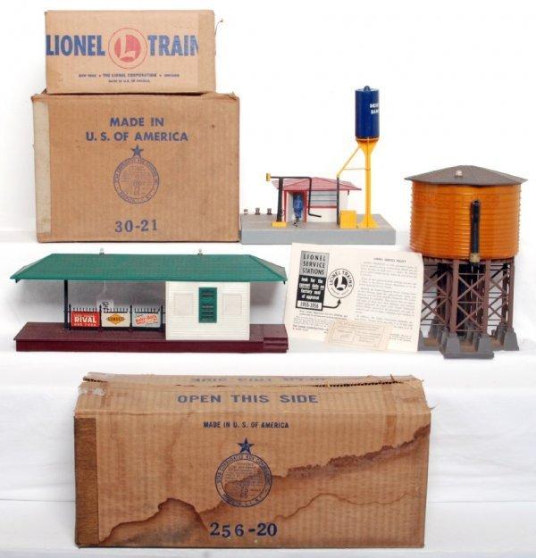 24: Lionel 256, 415, 30 in original boxes