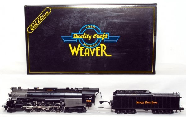 96: Weaver Gold Edition brass NKP 2-8-4 loco in OB