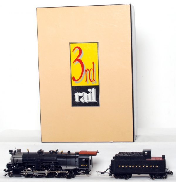 112: Sunset Models 3rd Rail brass PRR 2-10-0 I-1 in OB