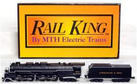 491 MTH Rail King 201117LP CO Allegheny 2666