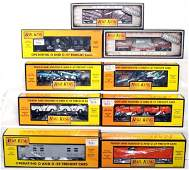 507 Seventeen MTH Rail King freight cars in OB