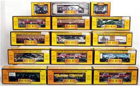 524 Twentlynine MTH Rail King freight cars in OB