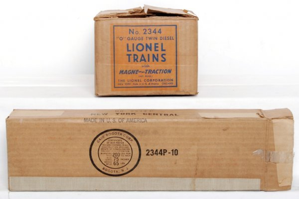 806: Lionel 2344 New York Central master carton only