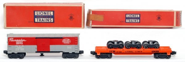 812: Lionel 3494-1 NYC, 6362 truck car, OB