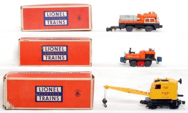 813: Lionel 3360, 3927 and 50 gang car OB