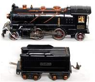 1210: Lionel prewar 262E loco with tender