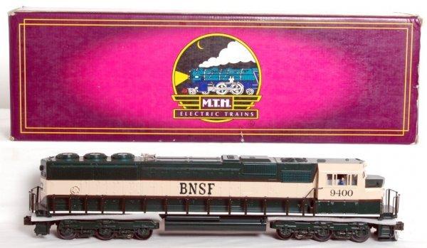 2: MTH 20-2154-1 BNSF EMD SD-70 MAC diesel
