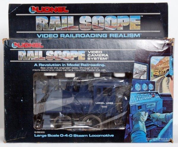 7: Lionel 55000 Large Scale 0-4-0 Rail Scope loco