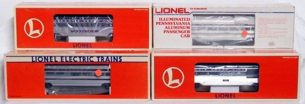 14: Lionel 19157, 9575, 7208, 191554 alum. passengers