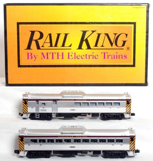 18: MTH Rail King 30-2183-0 C.P. RDC BUDD cars