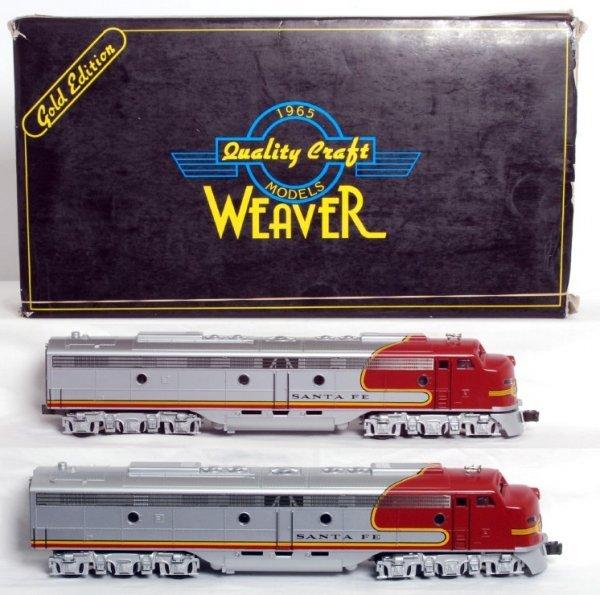 19: Weaver AT&SF EMD E-8 A units in OB