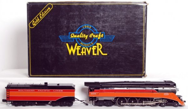 24: Weaver brass Southern Pacific GS-2 4-8-4 in OB