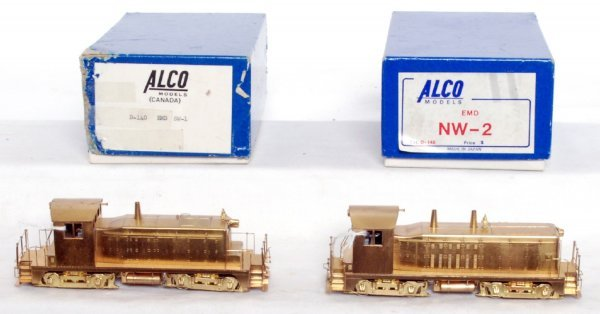 396: Alco Models brass HO scale EMD SW-1 & NW-2