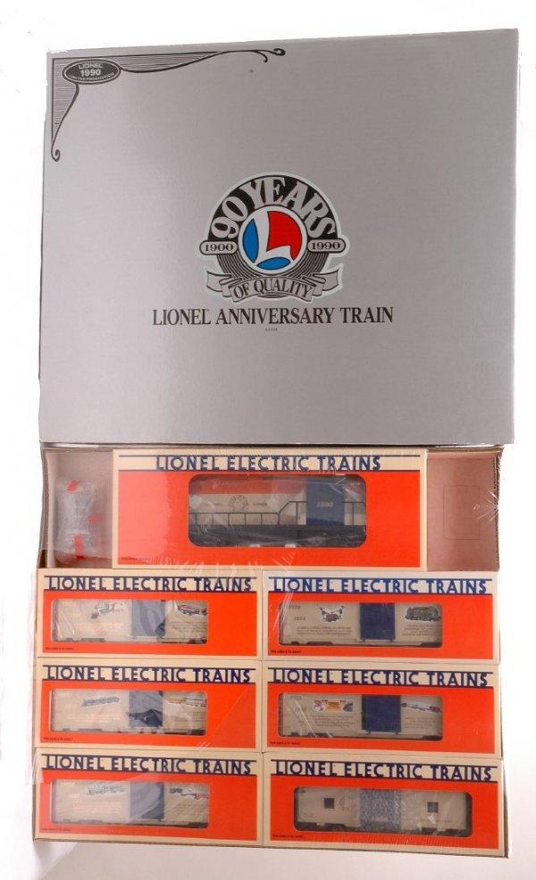 1: Lionel 11715 90th Anniversary Set MINT Boxed