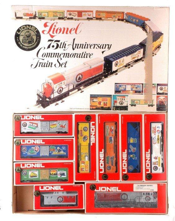 8: Lionel 75th Anniversary Set 1585 MINT Boxed