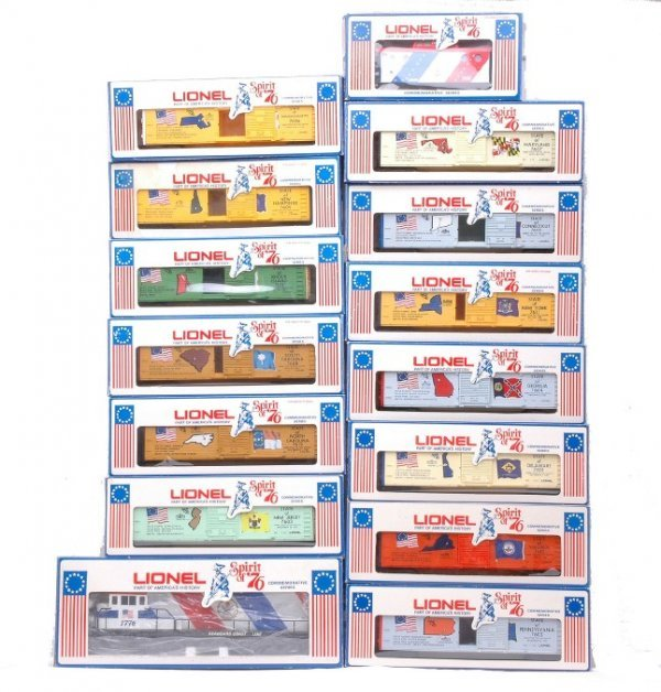 11: Lionel Spirit of 76 Freight Set MINT  Boxed