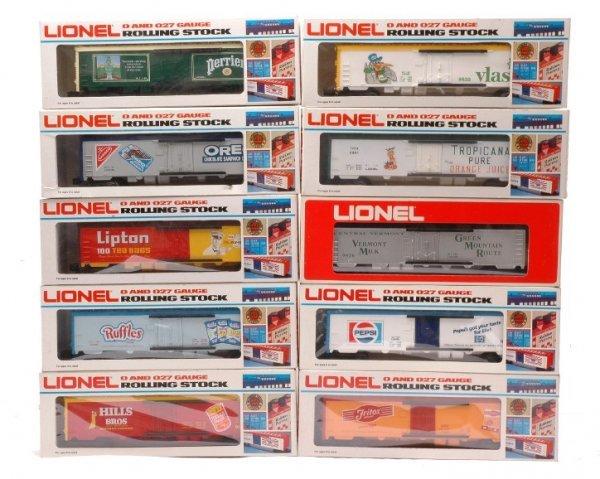 12: Lionel 9813 9814 9831 9833 9861 9876 9879 MIB