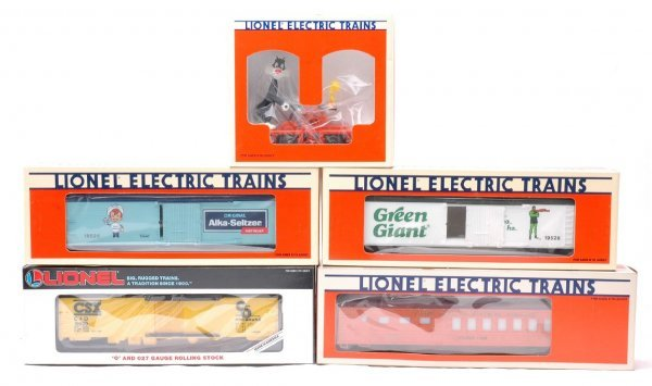 20: Lionel 18421 19003 19520 19525 19526 MINT OBs