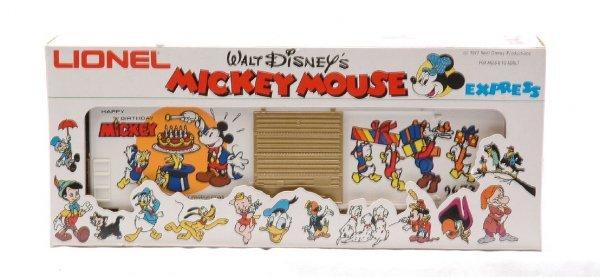 22: Lionel 9672 Mickey Mouse 50th Anniversary Car MIB