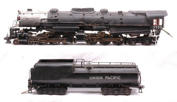300: O Scale UP 3900 Class Challenger Loco w/Tender