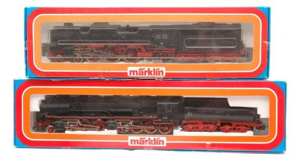 370: Marklin 3102 3310 Locos and Tenders Boxed
