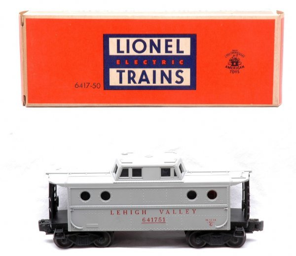 505: Lionel 6417 Gray Lehigh Valley Caboose MINT OB