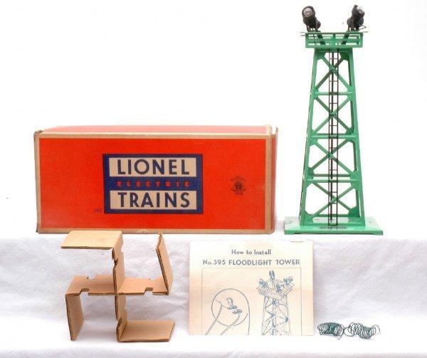507: Lionel Postwar 395 Floodlight MINT Boxed