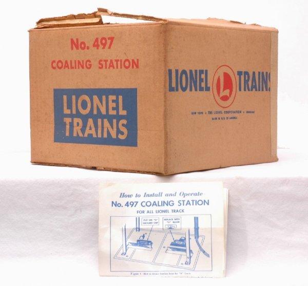 509: Lionel Postwar 497 Coaling Station MINT Boxed