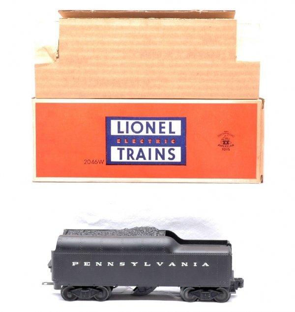 519: Lionel 2046W-50 Pennsylvania Tender MINT OB