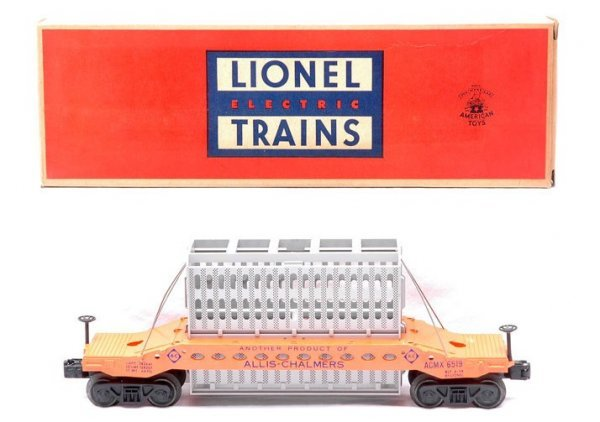 520: Lionel Postwar  6519 Allis Chalmers Car MINT OB