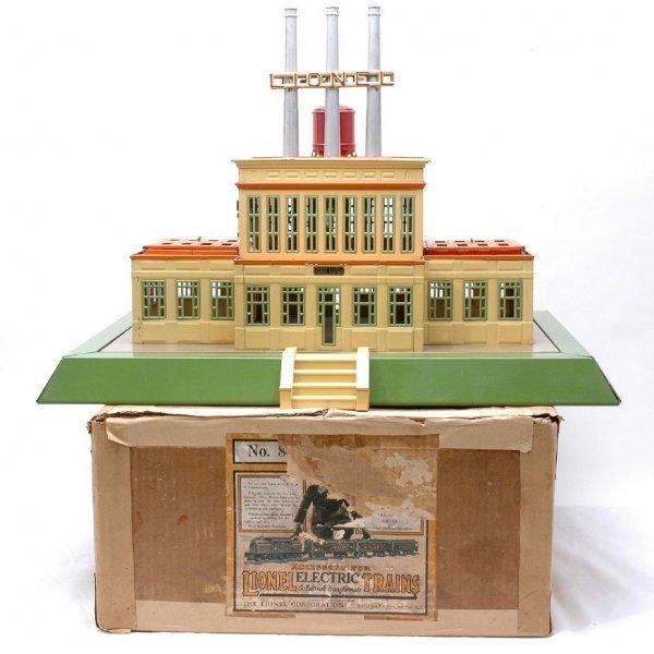 702: Lionel Prewar 840 Industrial Power Station Boxed