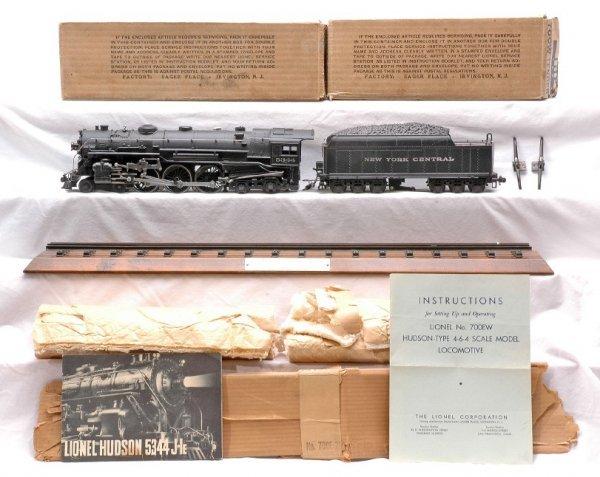 720: Lionel 700E Scale Hudson 700W Tender MINT OB