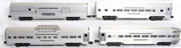 5: Lionel 2530, 2531, 2532, 2534 aluminum passengers