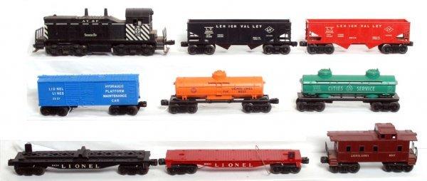 6: Lionel 616 S.F., 6076, 6025, 3357, 6476, 6465...