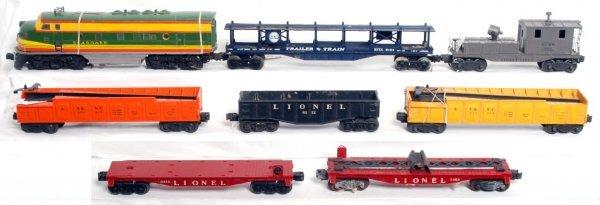 22: Lionel postwar F3, 6420, 3562-75, 3562-50, more