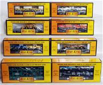 356 Sixteen MTH Rail King freight cars in OB