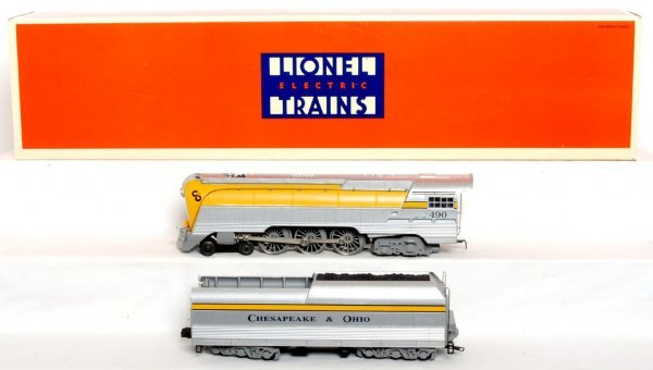1: Lionel C&O Yellow belly Hudson W/TMCC