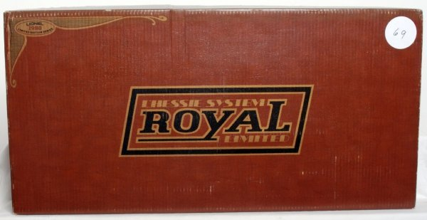 5: Lionel Chessie System Royal Limited Set