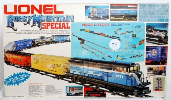 10: Lionel Rocky Mountain Special Set