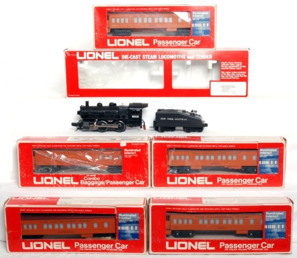 24: Lionel N.Y.C. Loco and Milwaukee Pass. Cars