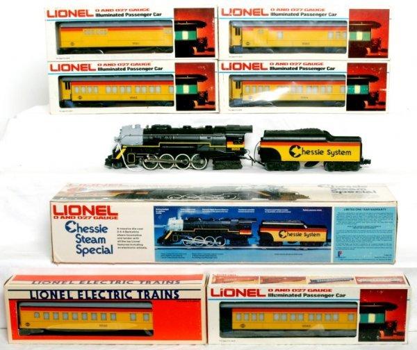 32: Lionel Chessie Stem Special Set