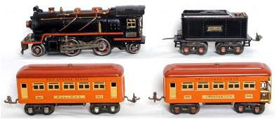 411: Lionel prewar 262E and 262T with 603 and 604