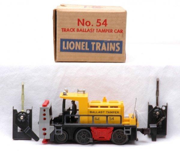 11: Lionel Postwar 54 Track Ballast Tamper MINT OB