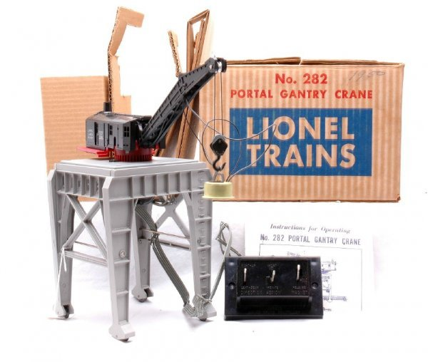 14: Lionel 282 Portal Gantry Crane LIKE NEW OB