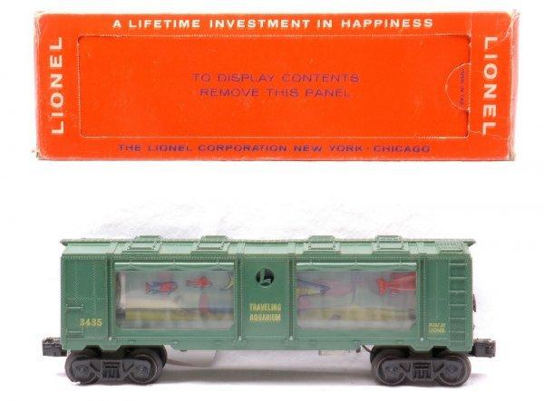 15: Lionel Postwar 3435 Aquarium Car MINT Boxed